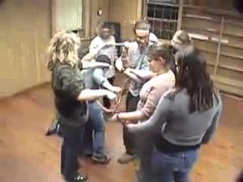 Human Knot Duct Tape Teambuilding Game Youtube