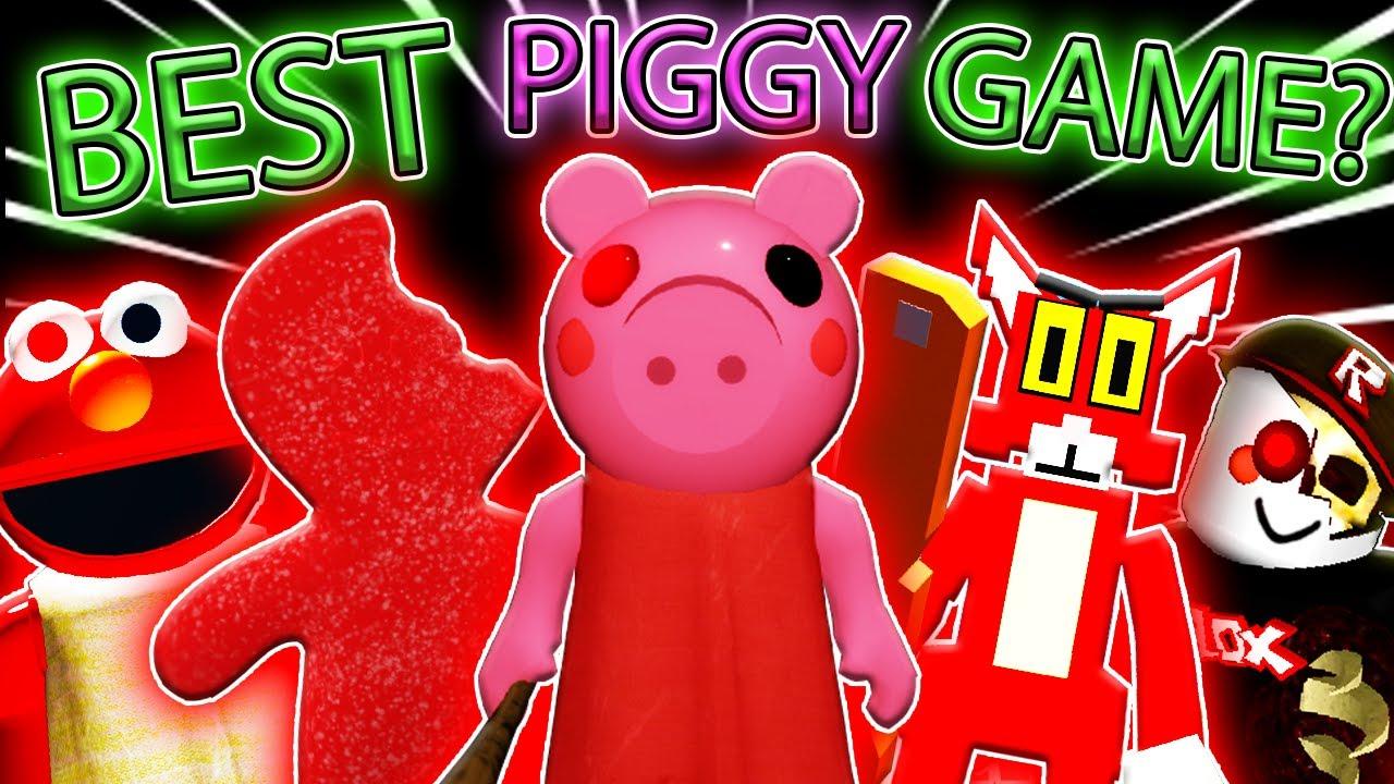 Top 10 Piggy Games In Roblox Top Ten Tuesday 3 Youtube