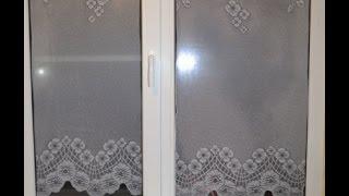 Как красиво оформить окно на кухне Тонирую окна ||Проверка на практике.