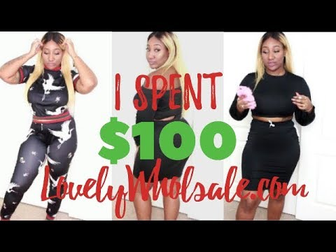 26fe0b2a12f23 I SPENT  100 ON LOVELYWHOLESALE.COM!!! OMG!! PLUS SIZE TRY ON ...