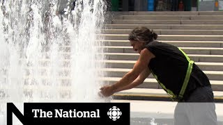 Montrealers cool off as temperatures soar