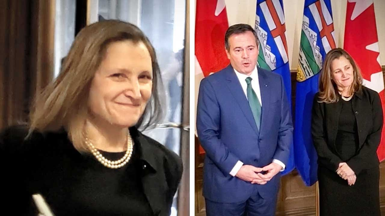 Chrystia Freeland ducks question: Why is there no carbon tax on imported Saudi oil? | Keean Bexte