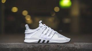 "Review & On-Feet: Adidas EQT ADV 91-16 ""Clear Onix"""