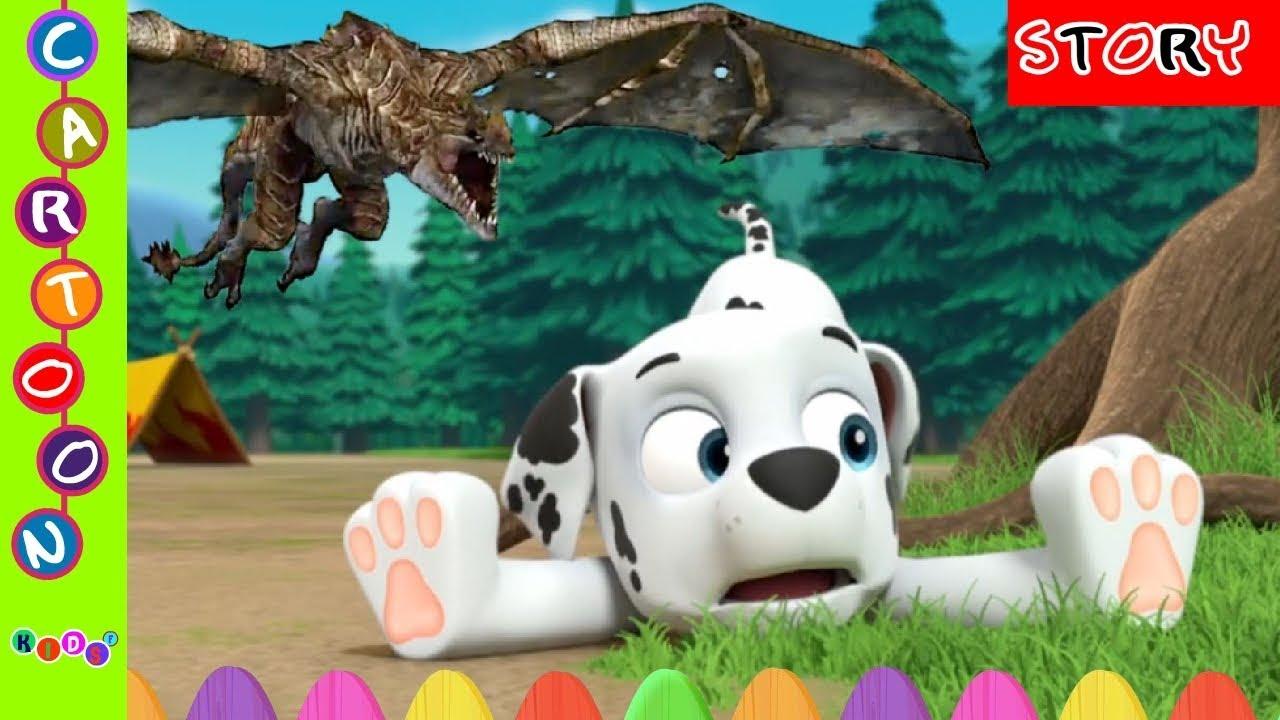 Paw Patrol Movie Marshall Bullied Monster Nursery Rhymes#Paw Patrol Full Episode ◕‿◕ KidsF