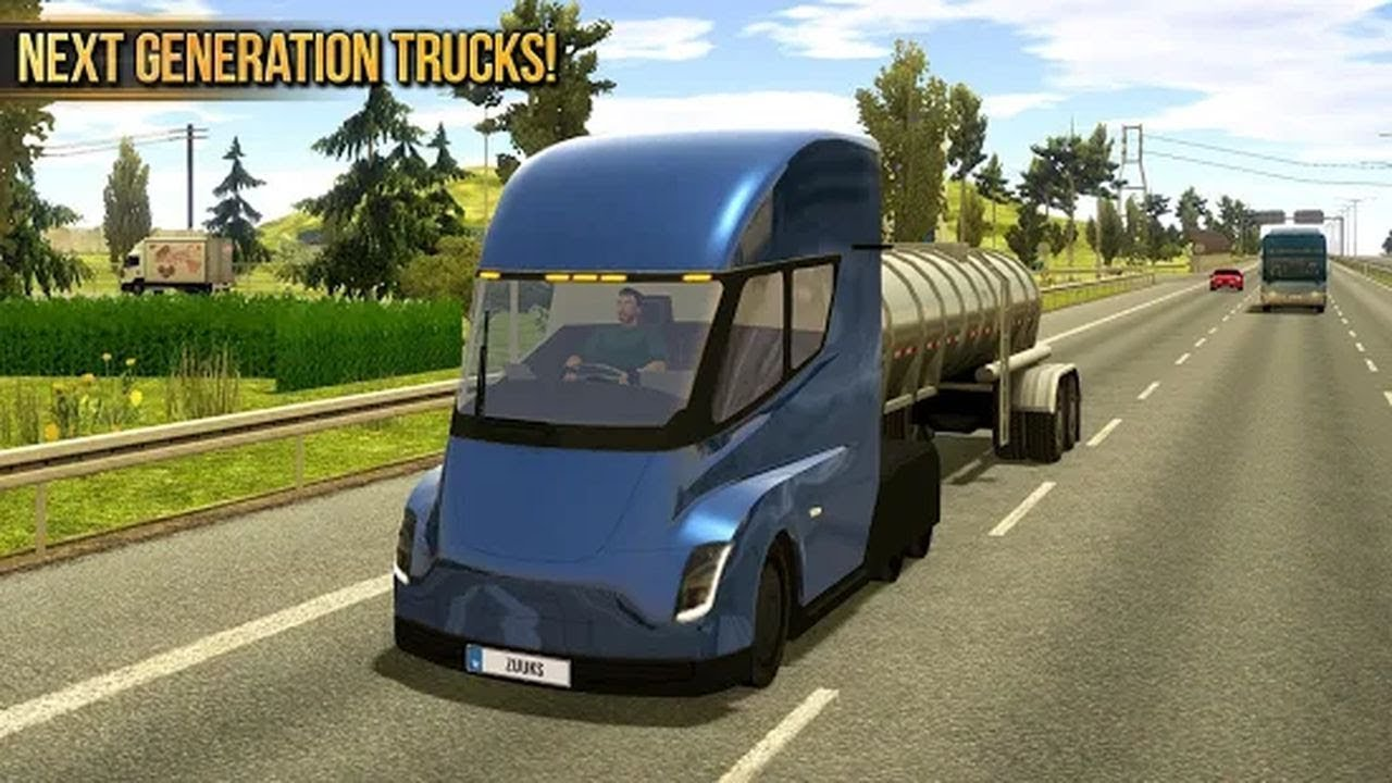 Truck Simulator 2018 Europe Gameplay Best Truck Driving Simulator