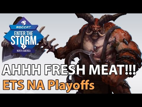 ► Heroes of the Storm Pro Gameplay: Blaze vs. Gust or Bust - ETS NA Playoffs