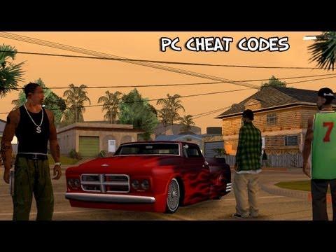 Grand Theft Auto: San Andreas - PC Cheat Codes