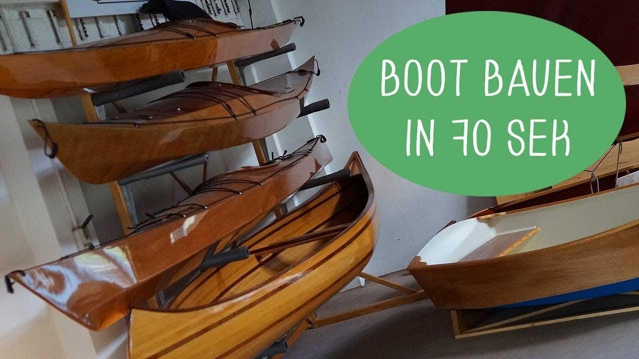 eigenes boot bauen - bootsbau-workshop usedom - youtube