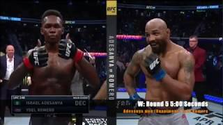 Israel Adesanya All Fights Compilation (Watch 19 - 0!)