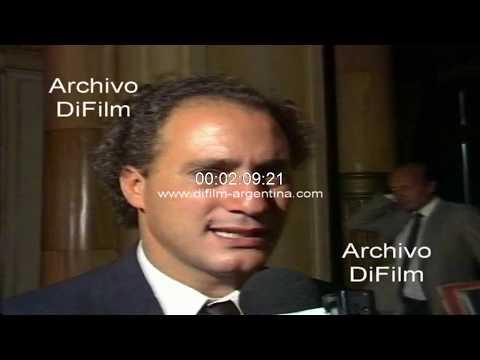 Juan Pablo Cafiero Sobre Reunion Con Carlos Menem 1990