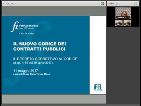 11/5/2017 - Correttivo al codice dei contratti pubblici: cosa cambia?