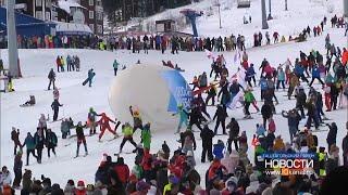Шерегеш первым в России открыл горнолыжный сезон