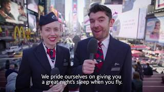 British Airways: Etiquette Guide to Sleeping at 35,000ft
