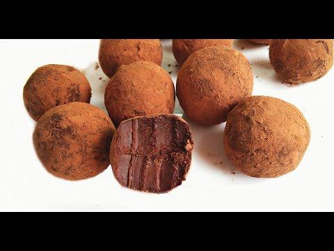 Трюфельные конфеты | рецепт конфет | Truffle candy recipe