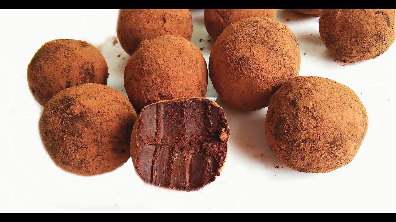 домашние конфеты трюфель фото рецепт
