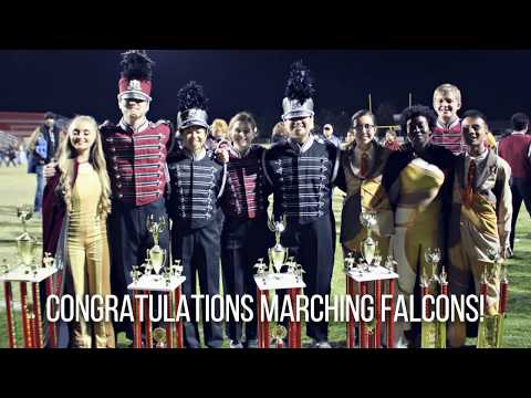 2017 IHS Marching Falcons @ Music in Motion - 11/4/17