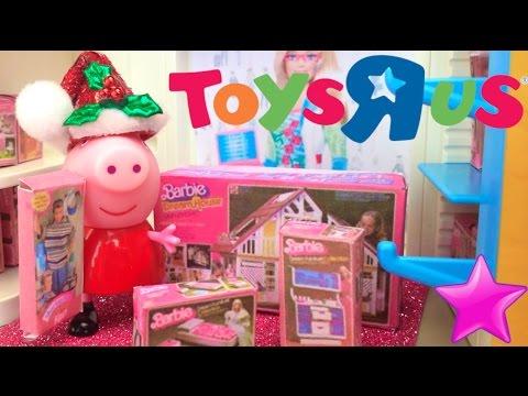 50º# PARTE Peppa Pig Va A TOYSRUS A Elegir Sus Regalos Para Papa Noel