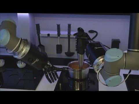 Cucina il robot chef - hi-tech - YouTube
