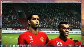 Anthem Indonesia Raya pes 2012