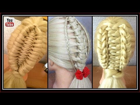 3 UNIQUE BRAID STYLES  / HairGlamour Styles /  Hairstyle Tutorials thumbnail