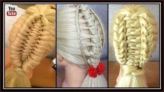 3 UNIQUE BRAID STYLES  / HairGlamour Styles /  Hairstyle Tutorials