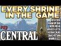 Every Shrine in Central Tower - Rota Ooh, Wahgo Katta, Saas Ko'Sah, & More! Zelda Breath of the Wild