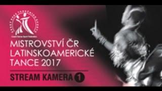 Vista TV Live 11 - MČR 2017 v tanečním sportu latinskoamerické tance - Praha Lucerna