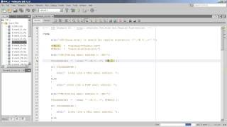 PHP - Regular Expressions and Patterns