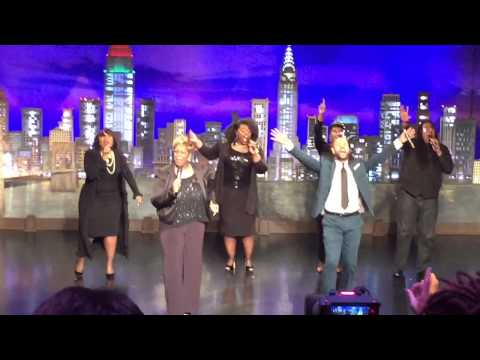Jj Hairston and YP on TBN Live You Are Worthy