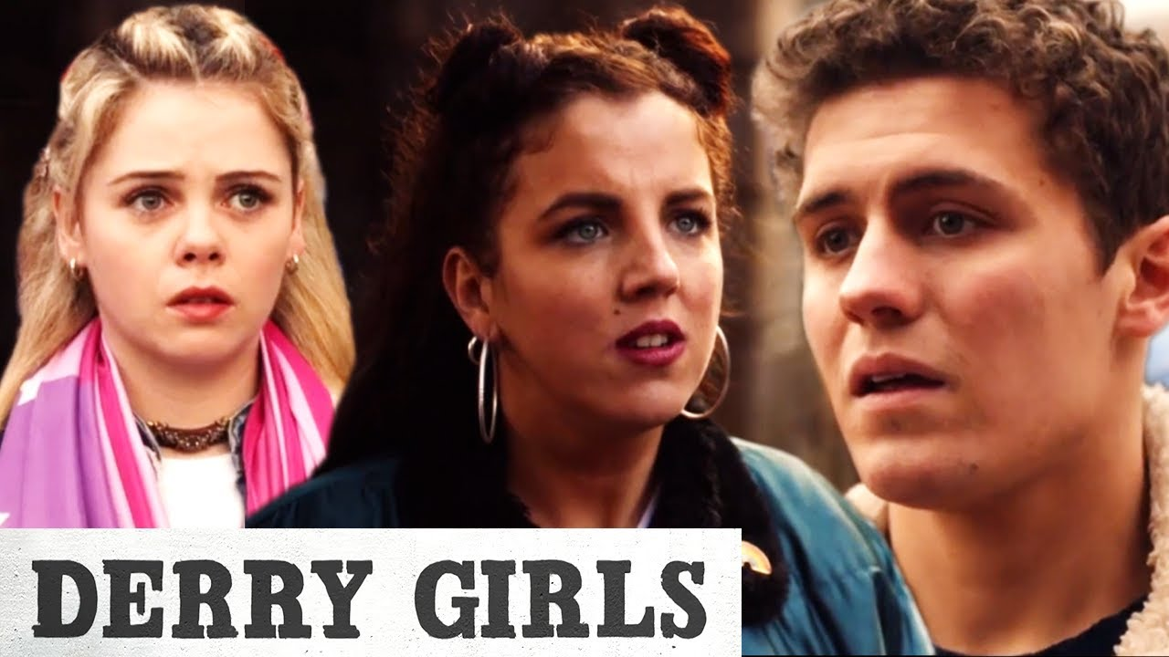 James Says His Goodbyes To The Girls | Derry Girls