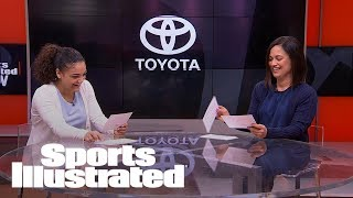 Laurie Hernandez & Mom Reenact Famous Mother-Daughter Scenes | SI NOW | Sports Illustrated