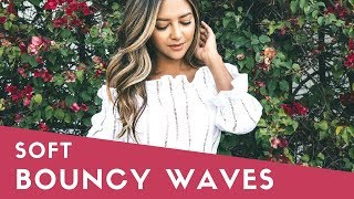 How to Get Bouncy, Beach Wave Blowout at Home