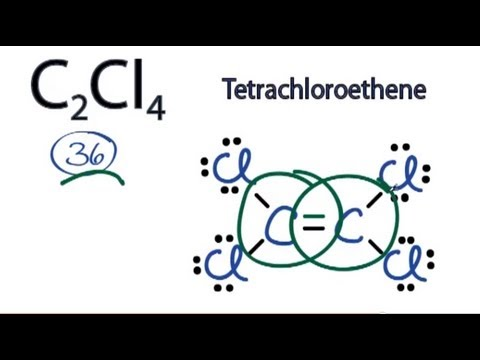 C2Cl4    Lewis       Structure     How to Draw the    Lewis       Structure    for  Tetrachloroethylene   YouTube