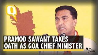 Pramod Sawant Takes Oath as Goa Chief Minister thumbnail