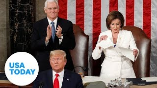 5 surprising State of the Union moments, including Trump's handshake snub | USA TODAY