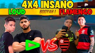 THURZIN E JORDAN VS ELTIN E RAFIS - LOUD VS FLAMENGO ? - 4X4 FT - VITOR,STRONG,PAMONHA,JUNIOR