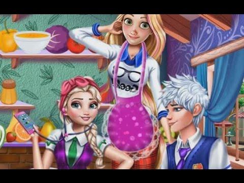 Disney Frozen Games - Elsa And Rapunzel Princesses Organic Shop - Baby Games 2017