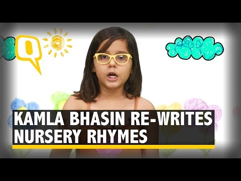 Watch: Feminist Activist Kamla Bhasin Re-Writes Nursery Rhymes