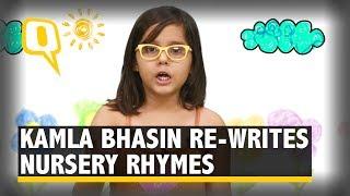 Watch: Feminist Activist Kamla Bhasin Re-Writes Nursery Rhymes