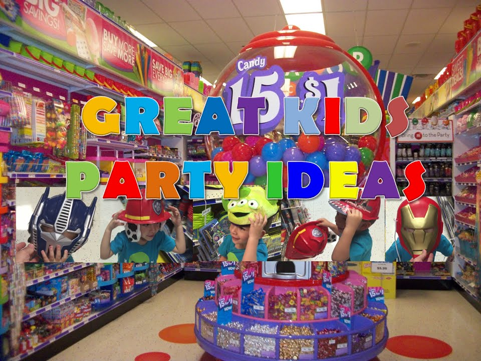 Party City Store Great Kids Party Ideas