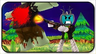 Zombies Stand No Chance - Roblox Zombie Attack