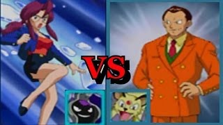 Pokemon Puzzle League: H-Warrior (Giovanni/Persian) vs PkmnPrncss (Lorelei/Closter) - Match 5