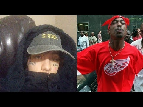 Lil Xan Gets Sad over Tupac Fans Clowning him and deletes his Twitter and Instagram.