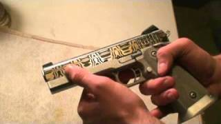 Custom Damascus 45 1911 2011