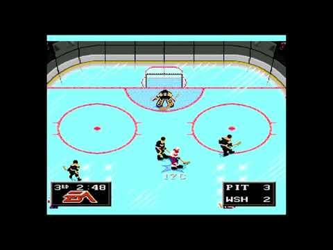 NHL 94 Fantasy Draft Pick#2 Mario Lemieux