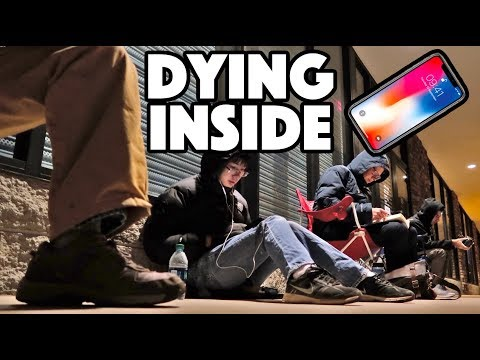 Thumbnail: WAITING IN LINE FOR iPHONE X