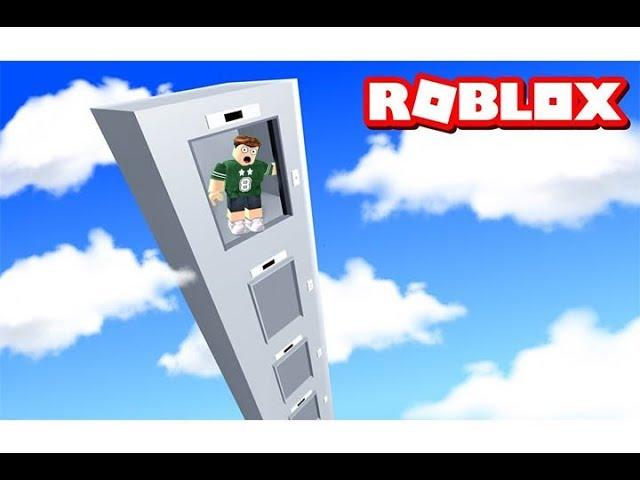 ركبت اغرب مصعد في العالم يطلع الى السماء فى لعبة roblox !!