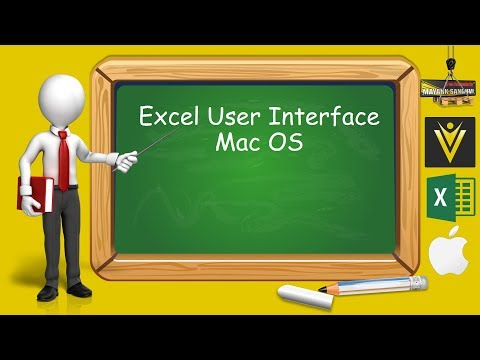 Excel User Interface Excel Tutorial for Mac Users