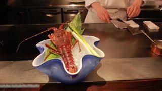 Street Food Japan - Lobster Processing Teppanyaki