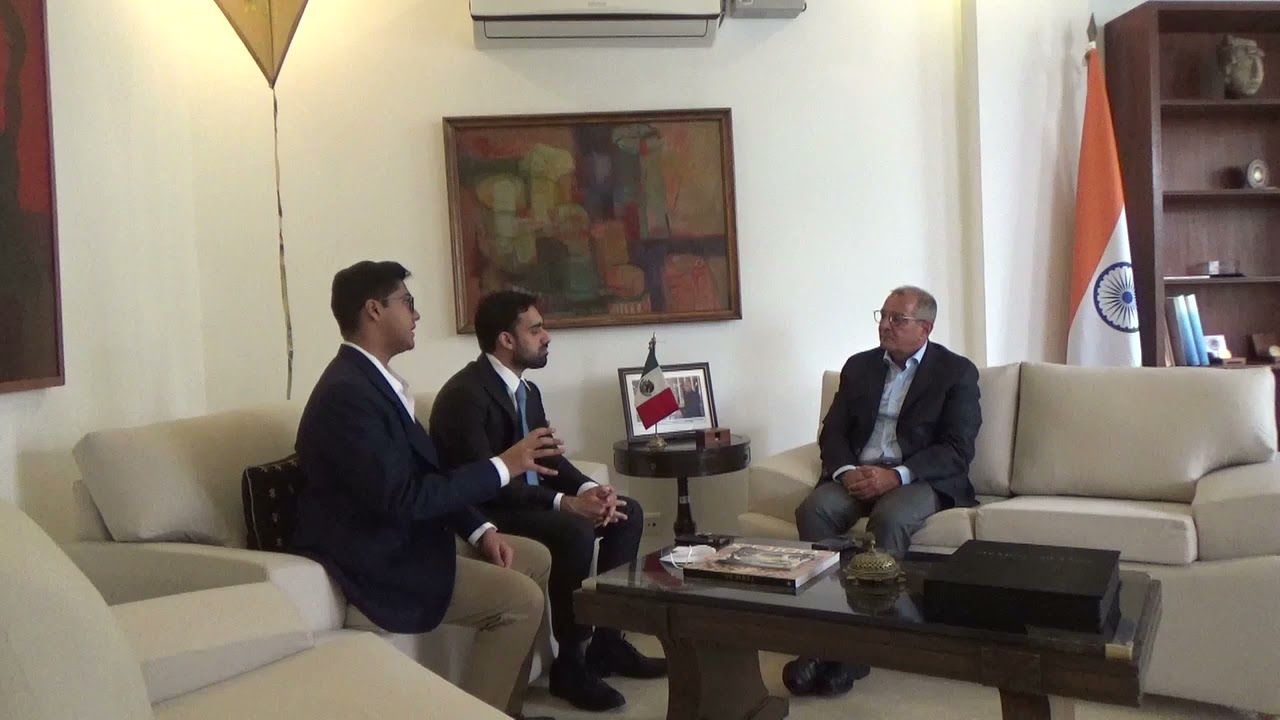 VIDEO: Interview of Mexico's Ambassador to India: Covid Pandemic, Development, and the Global South